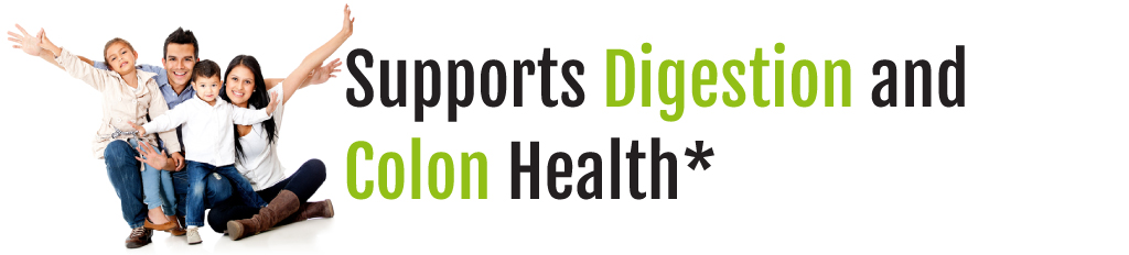 Supports Digestion and Colon Health banner image