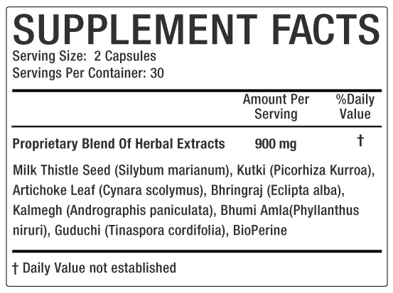 sanhepto Supplement facts image