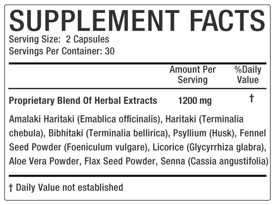 Sanphala Supplement Facts image